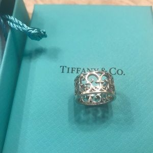 Tiffany Sterling Silver Enchanted ring